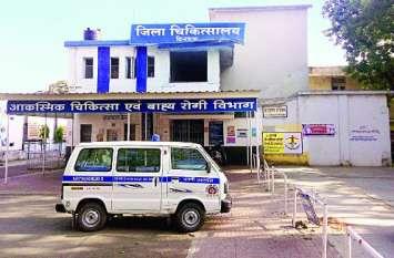 अस्पताल में महिला के पर्स से दस हजार रुपए चोरी