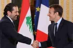 लेबनान के PM हरीरी सऊदी अरब से हुए रवाना, फ्रांस के राष्ट्रपति इमैनुएल मैक्रों से करेंगे मुलाकात