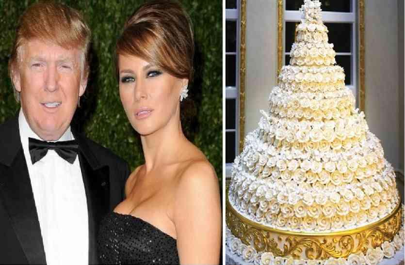 इस वजह से अपनी शादी में ट्रंप ने नहीं खाया था वेडिंग केक, अब होने जा रहा नीलाम