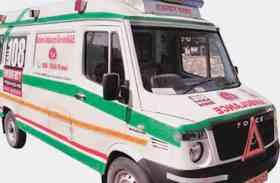 एंबुलेंस में इन्वर्टर खराब, मरीजों के जीवन पर संकट