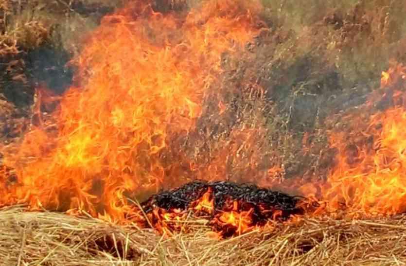 औद्योगिक क्षेत्र में आग बुझाने के नहीं है साधन