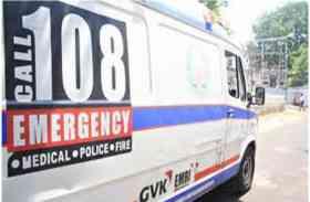 MP में थमें 108 एंबुलेंस के पहिये, कर्मचारी हड़ताल शुरू