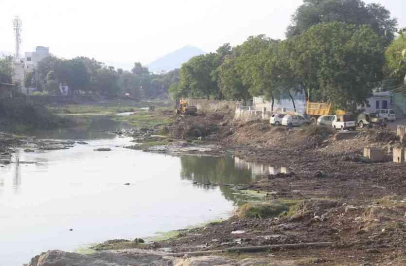 एनीकट से प्राकृतिक स्वरूप नहीं बिगड़े आयड़ का, चौपाल में जनता ने जोश से दिए सुझाव