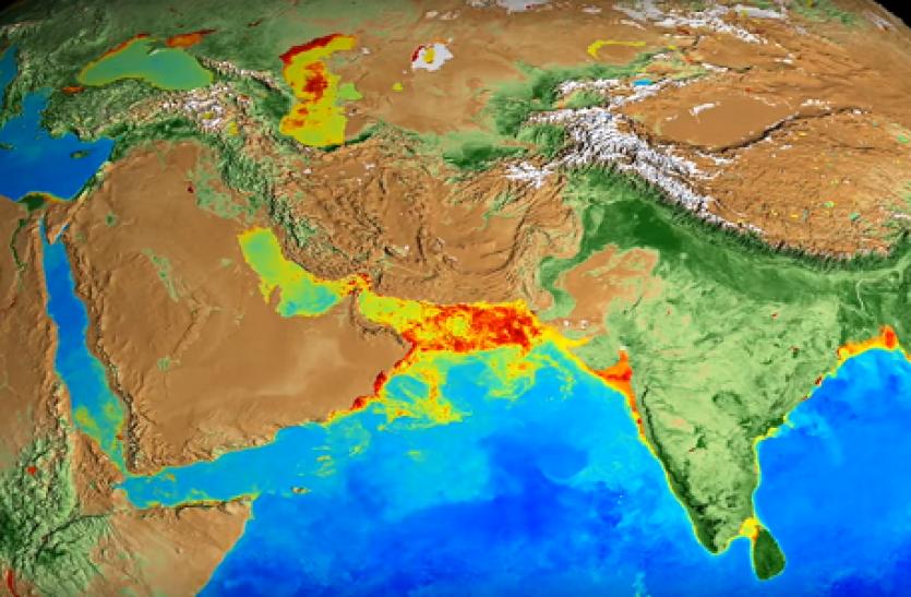 पिछले 20 सालों में पृथ्वी ने ऐसे बदला अपना रंग, देखें ज़बरदस्त वीडियो