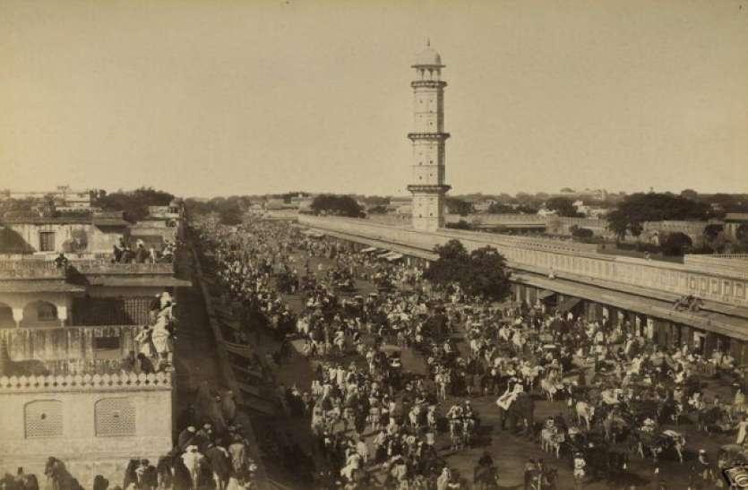 जयपुर में अजमेरी गेट के पास स्थित है नमक की मंडी