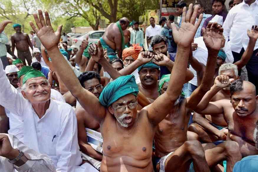farmers protest in Delhi