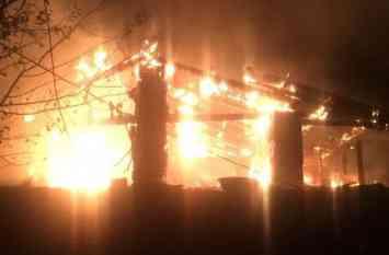 लुधियाना में भीषण अग्निकांड में तीन की मौत, 25 घायल