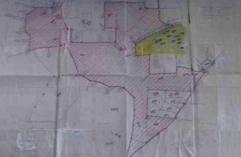 वन विभाग ने लगाया विवि के विकास में अड़ंगा, 180 एकड़ जमीन पर किया दावा