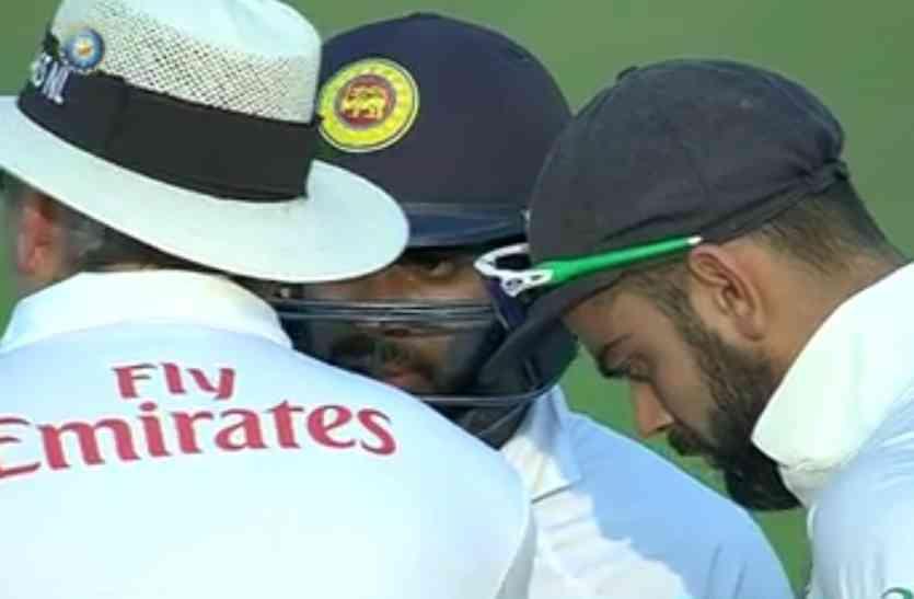 मैदान में कोहली के गुस्से का नहीं रहा खौफ, इस श्रीलंकाई खिलाड़ी ने पार की सभी हदें