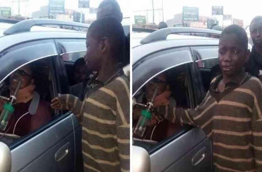 कार में बैठी महिला से भीख मांगने पहुंचे बच्चे ने अचानक ऐसा क्या देखा कि उस महिला को दे दी अपनी दिनभर की कमाई