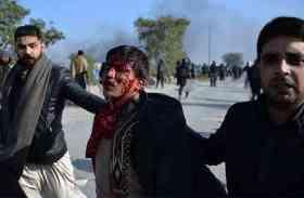 पाकिस्तान में सरकार के खिलाफ प्रदर्शन, पुलिस से टकराव के बाद लाइव प्रसारण पर लगी रोक