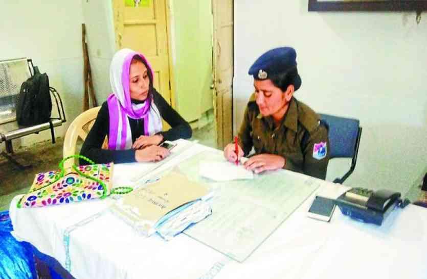 बहादुरी की मिसाल-ट्रेन से सामान चोरी, छात्रा ने पकड़ा चोर