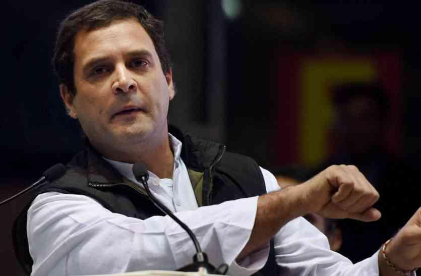 राहुल गांधी का सरकार पर निशाना, कहा- मेक इन इंडिया ने तोड़ा दम, नुकसान का जिम्मेदार कौन?