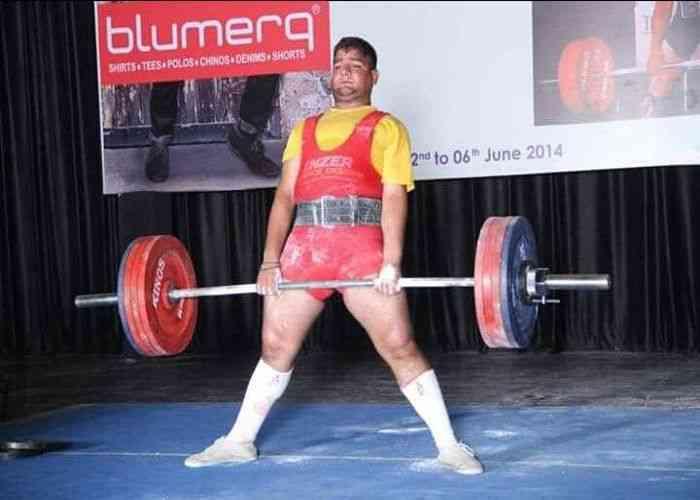 Pradeep Yadav Powerlifter