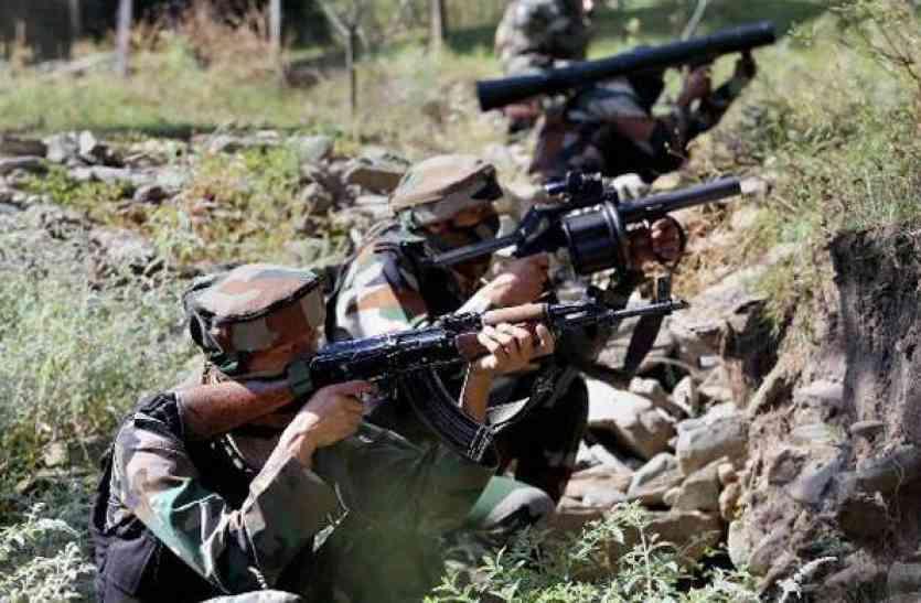 LoC पर पाकिस्तान ने किया सीजफायर उल्लंघन, सेना ने दिया मुंहतोड़ जवाब