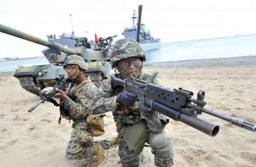 रूस की चेतावनी- अमरीका और साउथ कोरिया के सैन्य अभ्यास से बढ़ेगा युद्ध का खतरा
