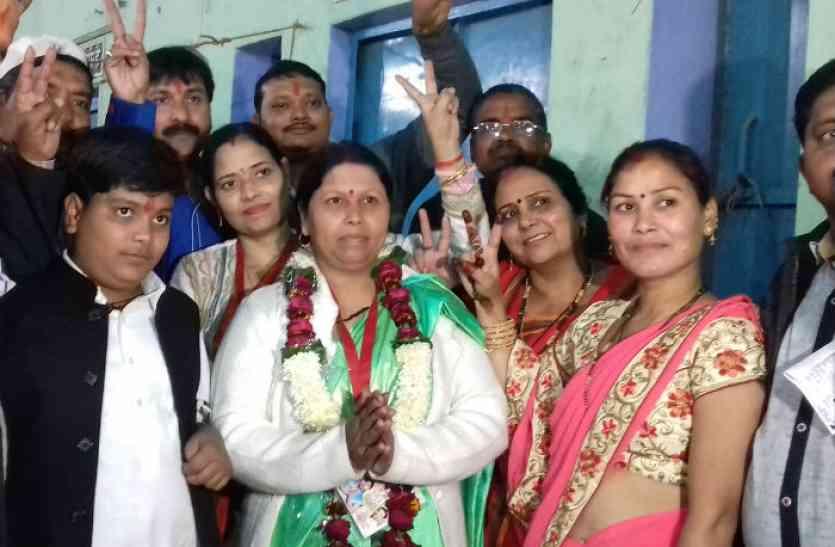कासगंज में निर्दलीय रजनी साहू ने रचा इतिहास, भाजपा प्रत्याशी को हराया