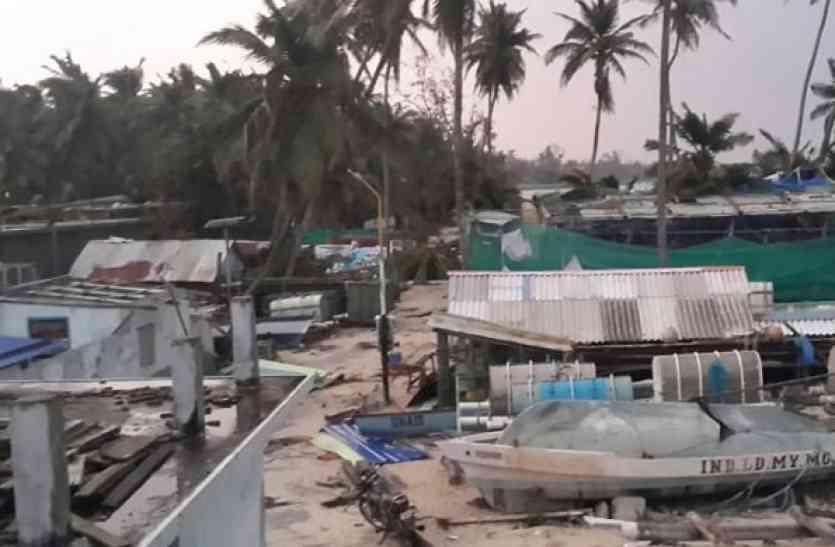 ओखी तूफान: 102 मछुआरे अभी भी लापता, कन्याकुमारी में बाढ़ जैसे हालात
