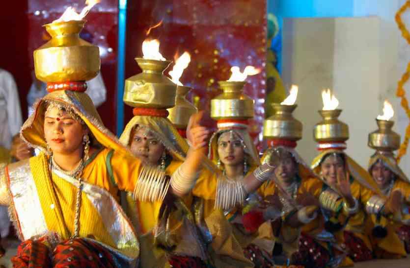 राजस्थानी संस्कृति में रम गए प्रतिभागी, लोक संस्कृति ने मोहा मन