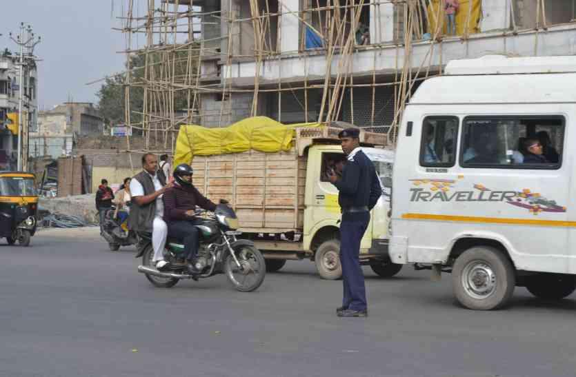 धीमे स्मॉग की चपेट में अजमेर, ट्रेफिक पुलिस के जवानों पर मंडराया खतरा