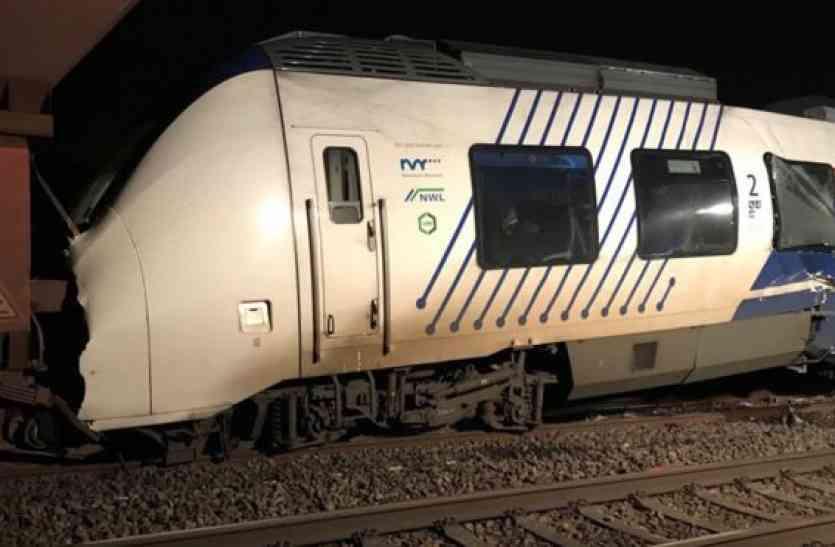 Video: जर्मनी में दो ट्रेनों की आमने-सामने से भिड़ंत, 47 घायल