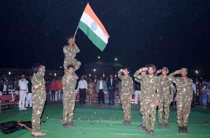 मध्यप्रदेश और महाराष्ट्र के 250 खिलाडिय़ों ने दिखाया दम