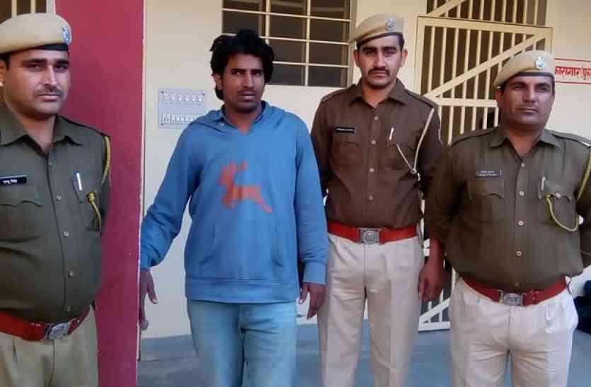महेन्द्र गोदारा हत्याकांड का आरोपित मदिया गिरफ्तार