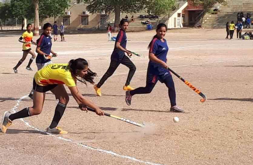 शानदार जीत : गाजूवास की बेटियों व राजगढ़ के बेटों ने चक दिया चूरू