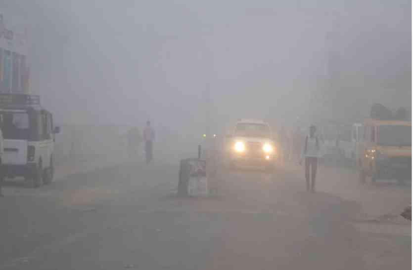 राजधानी में बादलों की आवाजाही के साथ कोहरे का लगा पहरा, सूर्यदेव ने दिए दर्शन लेकिन सर्द हवा ने बढ़ाई गलन