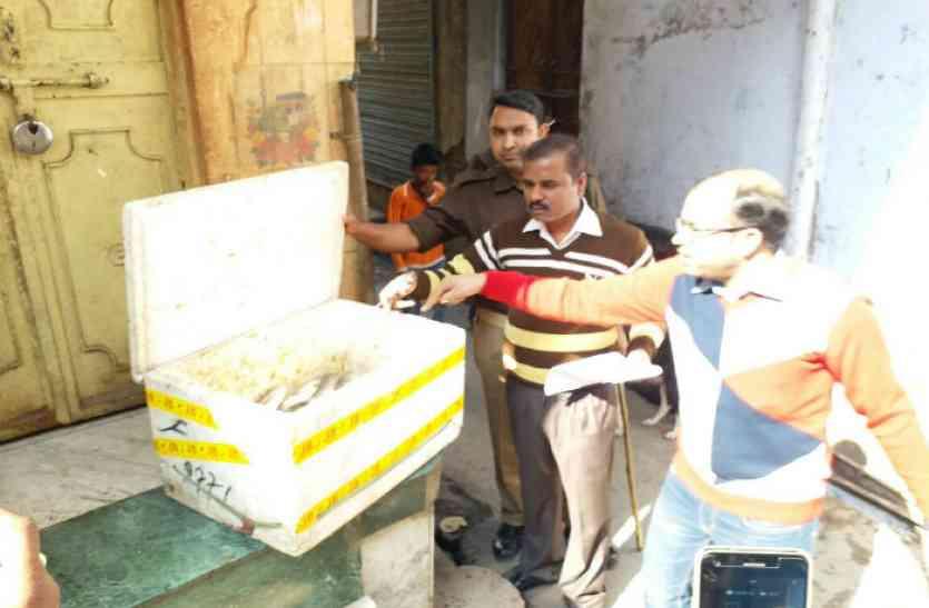 तीर्थनगरी में मीट बेचने वालों पर पुलिस ने की कार्रवाई, एक गिरफ्तार