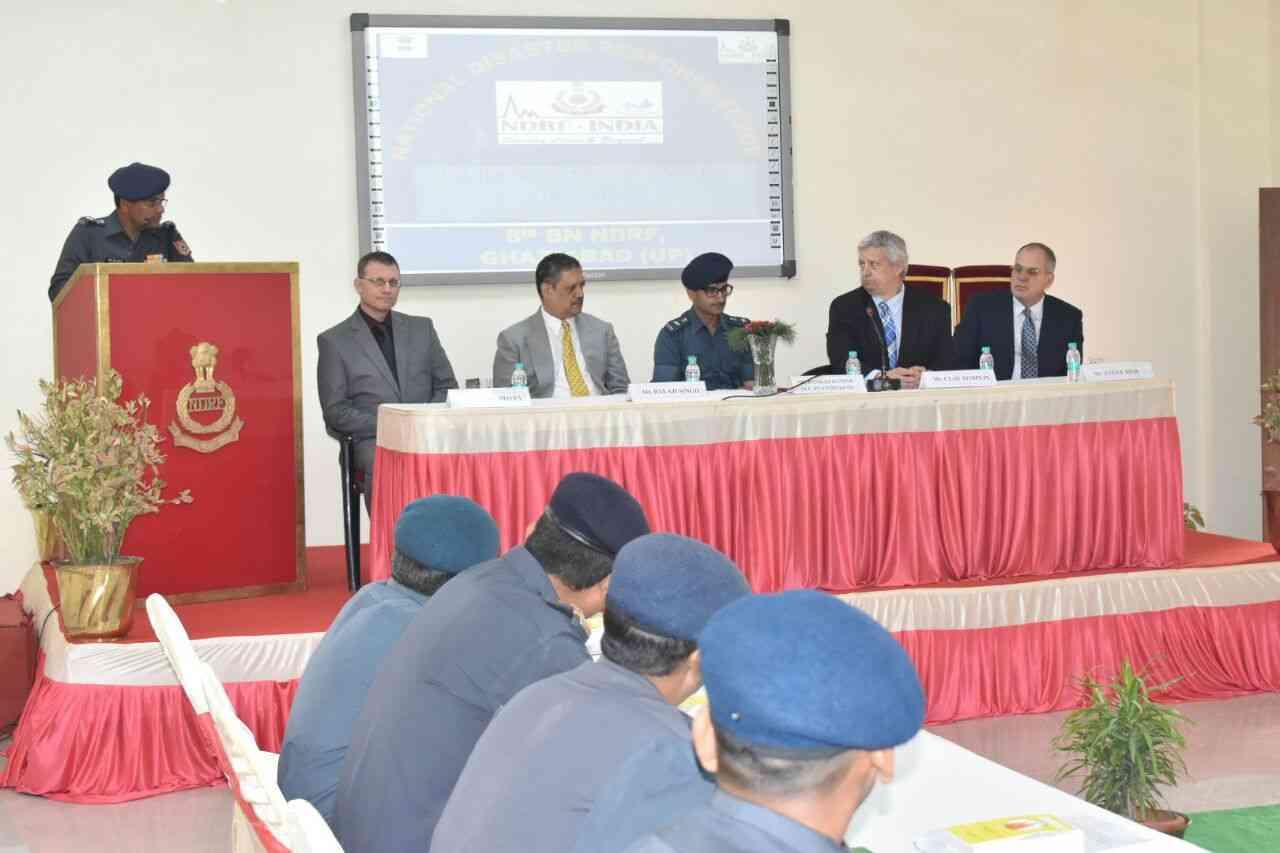 NDRF team training