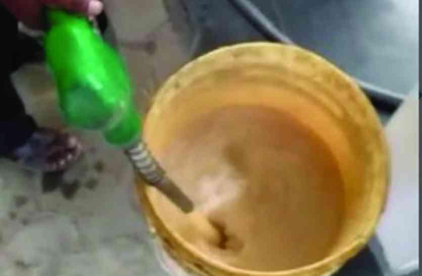Video: जब डीजल की जगह पंप ने दिया पानी, वायरल विडियो से वाहन चालकों में खलबली