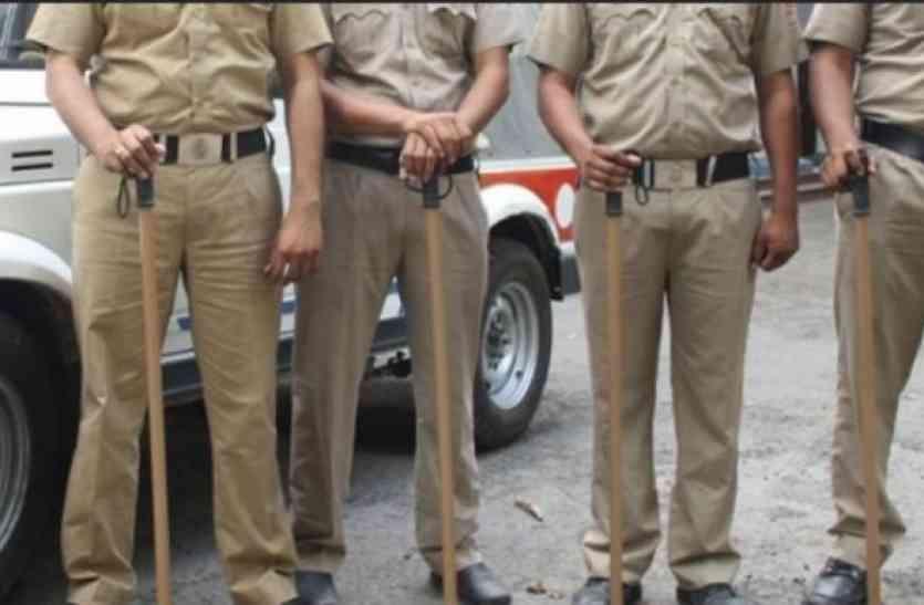 गजब है एमपी : पांच लाख लोगों की सुरक्षा कर रहे हैं 48 पुलिसकर्मी