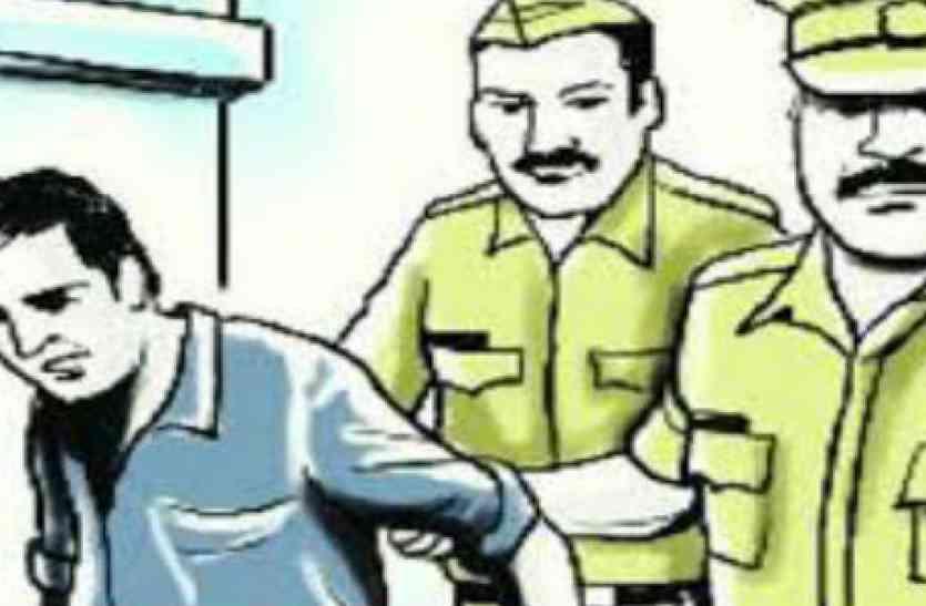 ग्रामीणों ने रंगे हाथ दबोचा चोर, लेकिन पुलिस ने छोड़ दिया