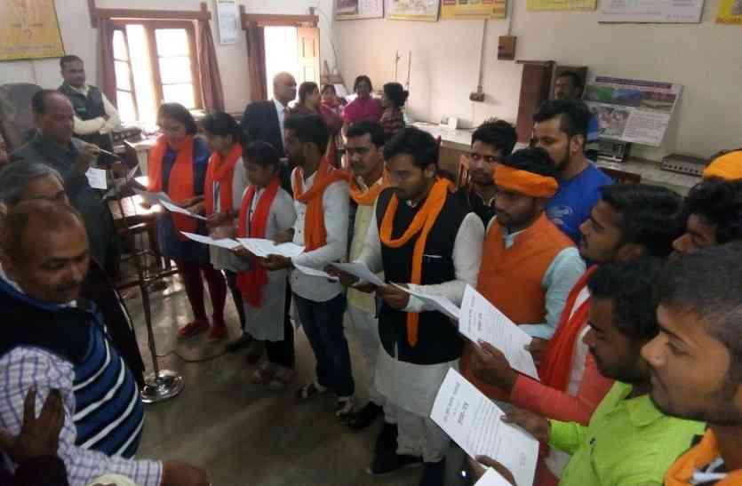 UP College छात्रसंघ चुनाव में नवीन अध्यक्ष, कृष्णमूर्ति उपाध्यक्ष व हर्ष सिंह महामंत्री निर्वाचित