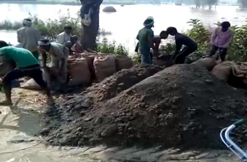 सिंचाई विभाग की बड़ी लापरवाही, नहर कटान से गांव में तबाही, एक हजार बीघा फसल बर्बाद