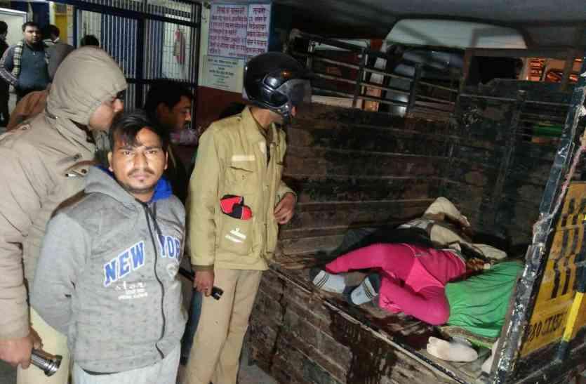 दिल्ली आगरा हाईवे पर भीषण हादसे में चार की दर्दनाक मौत