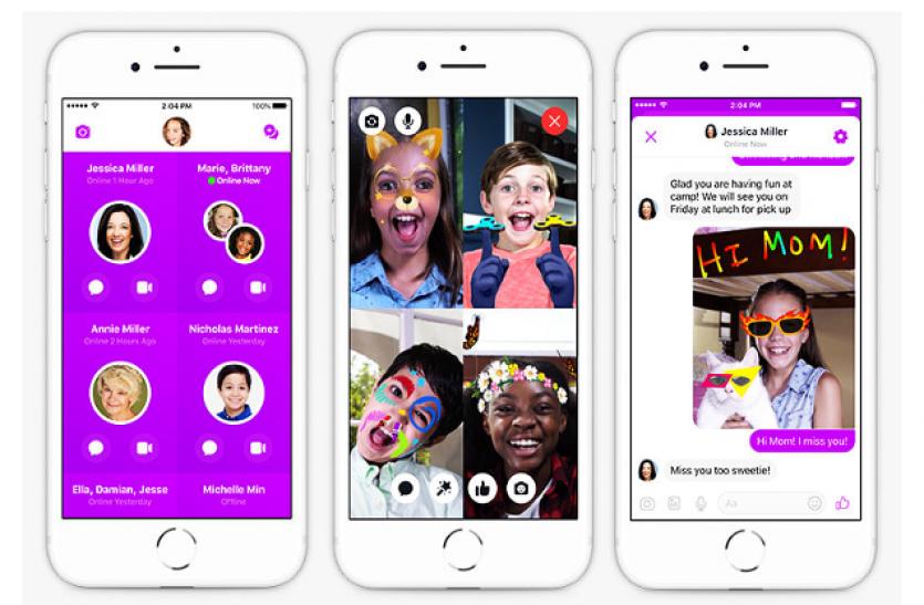 बच्चों के लिए Facebook लेकर आई खास एप-Messenger Kids