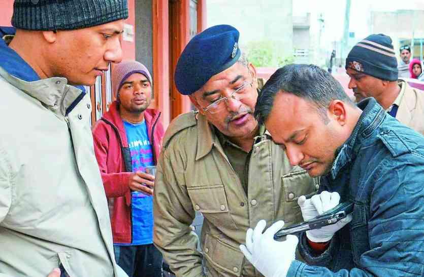 अलवर गौ तस्करी मामला, गोतस्करों की तलाश में जुटी पुलिस