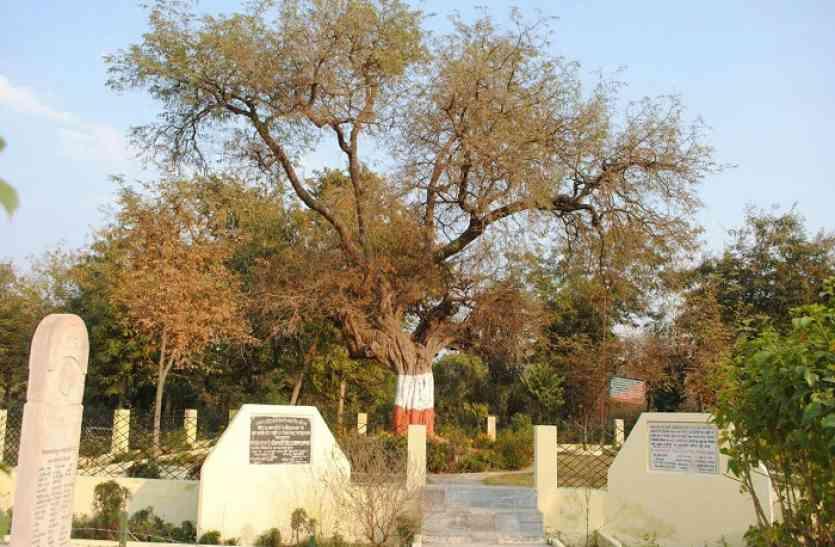 इमली के पेड़ पर लटकाए गए थे क्रांतिकारी, टहनियों में दिखती है अंग्रेजों की क्रूरता की निशानी