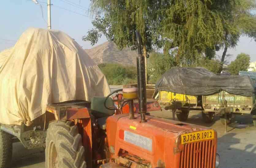 दलहन बेचना टेढ़ी खीर साबित हो रहा किसानों के लिए , बारदाने के अभाव में नही हो पा रही तुलाई