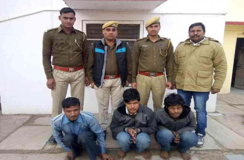 तोड़-फोड़ कर चोरी करने के मामले में आरोपितों को न्यायालय ने भेजा रिमाण्ड पर