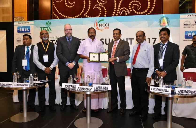 बिजली मंत्री ने किया टैन इनर्जी सम्मिट 2017 का उद्घाटन
