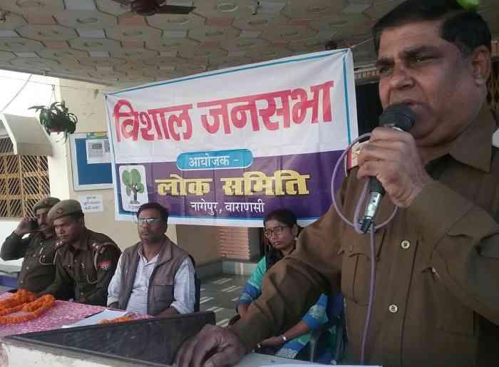 नागेपुर में पुलिस की चौपाल, महिलाओं को दिए आत्मरक्षा के टिप्स