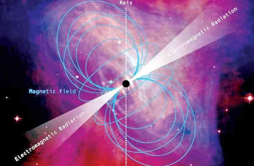 खगोलीय घटना: पल्सर तारे से होगी 'आतिशबाजी'
