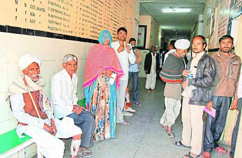 चिकित्सकों की हड़ताल से व्यवस्था लडख़ड़ाई, दिनभर ऐसे परेशान होते रहे मरीज