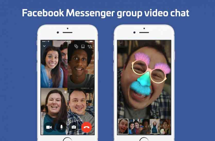 फेसबुक मैसेंजर में लाइव स्ट्रीमिंग, वीडियो चैट फीचर्स लांच