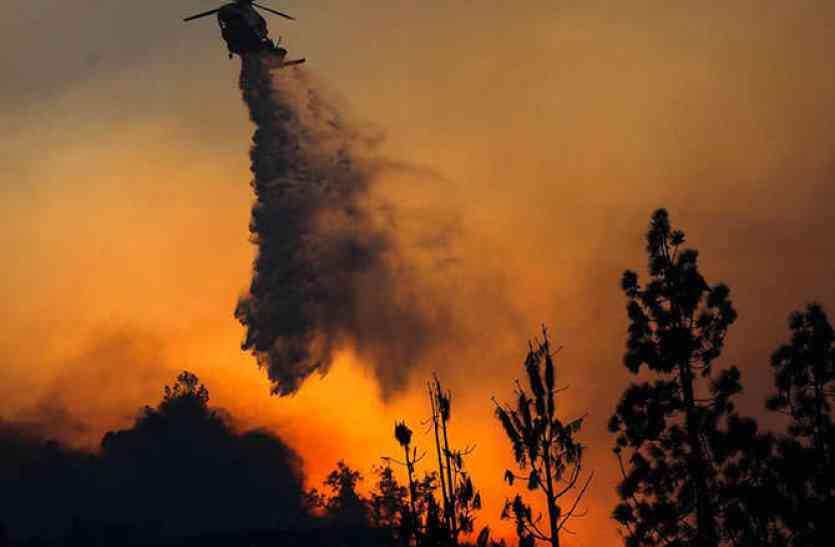 Video: कैलिफोर्निया के जंगलों में नहीं बुझ रही आग, ट्रंप ने किया आपातकाल का ऐलान
