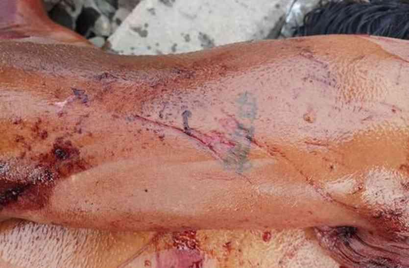 रेलवे पटरी के पास मिली युवक की रक्तरंजित लाश, सनसनी