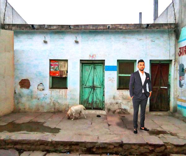 virat kohlis house in katni madhya pradesh